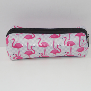 Penyegar Neoprene Zipper Pencil Case